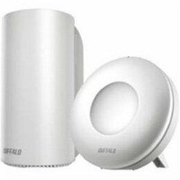 生活関連グッズ AirStation connect デュアルバンドルーター スターターキット Wi-Fi親機1台+専用中継機1台 WRM-D2133HP/E1S