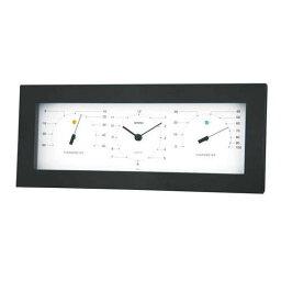 電化製品関連 EMPEX置き掛け兼用 MONO 温度計・時計・湿度計 MN-4841 ホワイト おすすめ 送料無料