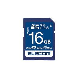アイデア 便利 グッズ SDHCカード/データ復旧サービス付/ビデオスピードクラス対応/UHS-I U3 80MB/s 16GB MF-FS016GU13V3R お得 な全国一律 送料無料