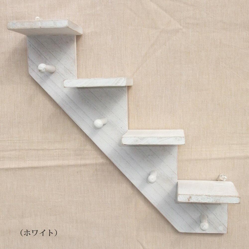 壁掛け シェルフ 壁面のディスプレイに最適!!インテリア 収納 家具 木製 アンティーク調 飾り棚 白
