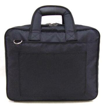 ビジネスバッグ メンズ 移動の際に便利な、ショルダー ベルトが付属 通勤・通学 軽量撥水 ヴェルツェ 本革付属軽量ビジネスカジュアルバッグ ブラック