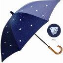 オトナ 上品 オトナ可愛い デザイン傘 日傘 ひより ちどり千鳥 綿混素材 長傘和風和柄