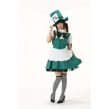 フリル メイド服 コスチューム 童話の世界から飛び出したかわいいコスチューム! コスプレ 帽子 シルクハットハロウィン 仮装 ハロイン halloween costume ハローウィン