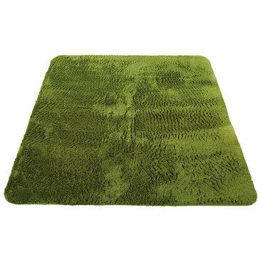 カバー カーペット 防音検査取得 マイクロファイバー ホットカバー カラー:グリーン サイズ:200×250cm