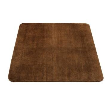 マット 敷物 ムートンのような肌触り 人気商品 ホットカバー 200×250cm ブラウン