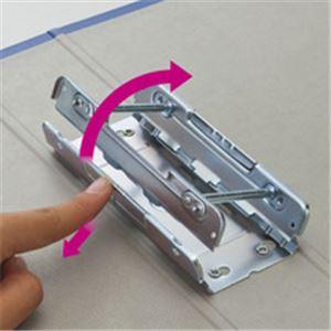 (まとめ)両開きパイプ式ファイルA4-S20mmとじグレー10冊