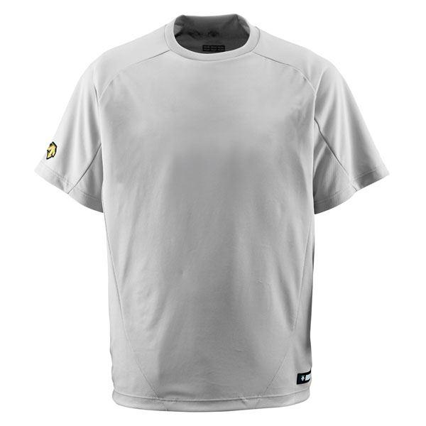 デサント(DESCENTE) ベースボールシャツ(Tネック) (野球) DB200 シルバー S