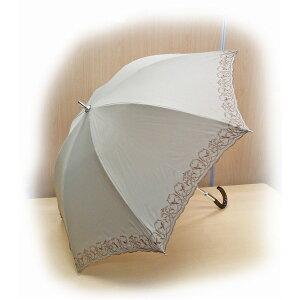 日用雑貨テイジンナノフロント使用遮熱パラソル(晴雨兼用傘)ベージュ