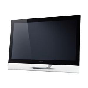 パソコン・周辺機器 Acer 23型ワイドタッチモニター(IPS/光沢/1920x1080/300cd/100000000:1/5ms/ブラック) T232HLAbmjjz:創造生活館