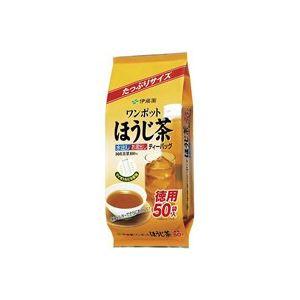 (まとめ買い)伊藤園 ワンポットほうじ茶ティーバッグ50袋 【×50セット】:創造生活館