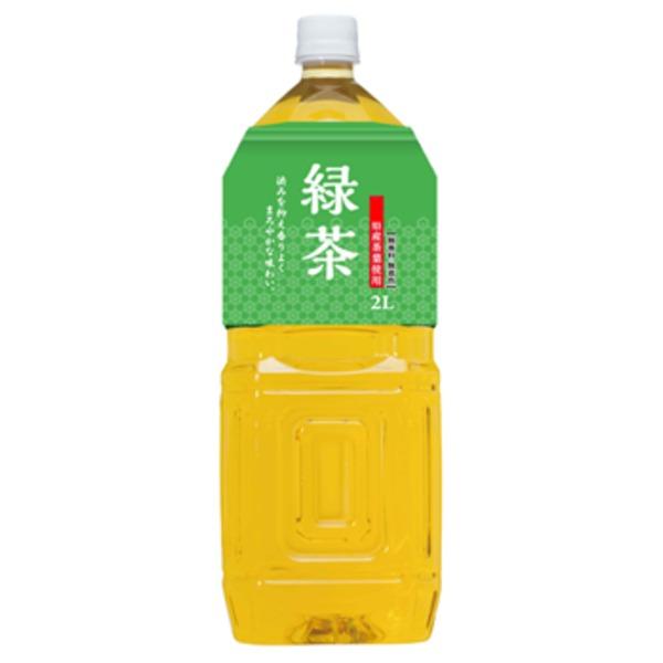 桂香園 緑茶 2L×60本(6本×10ケース)ペットボトル【静岡産の茶葉使用】