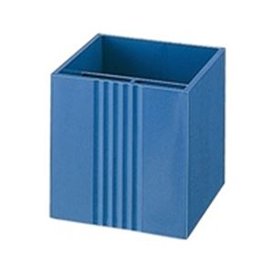 文具・オフィス用品(まとめ買い)プラスペンスタンドTM-402ブルー【×20セット】