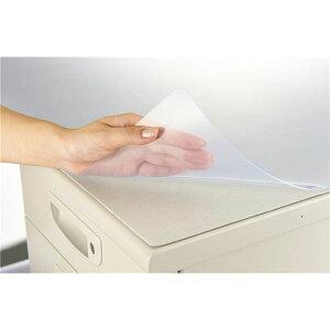 文具・オフィス用品生活日用品雑貨デスクマット再生オレフィン1.5mm厚1590×690mmグレーマット付