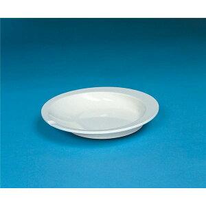 健康器具(まとめ)アビリティーズケアネット食事用具すくいやすい皿アイボリーF50100【×15セット】