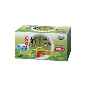 お茶・紅茶 (業務用20セット) AGF 粉末茶新 茶人スティック 100本入 【×20セット】:創造生活館