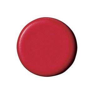 文具・オフィス用品(業務用100セット)ジョインテックス強力カラーマグネット塗装18mm赤B272J-R10個【×100セット】