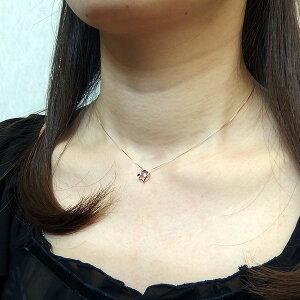ネックレス・ペンダントダイヤモンドペンダント/ネックレス一粒K18イエローゴールド0.1ctダンシングストーンダイヤモンドスウィングネックレス揺れるダイヤが輝きを増す☆ハートモチーフ揺れるダイヤ