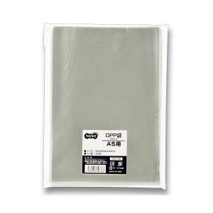 (まとめ)TANOSEEOPP袋フラットA5用160×220mm1セット(1000枚:100枚×10パック)【×2セット】