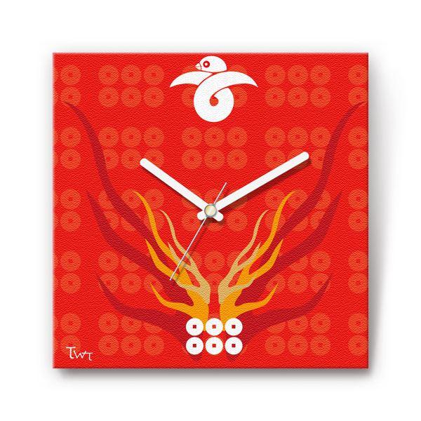 置き時計・掛け時計 関連商品 六連銭・真田幸村 戦国ファブリック掛時計
