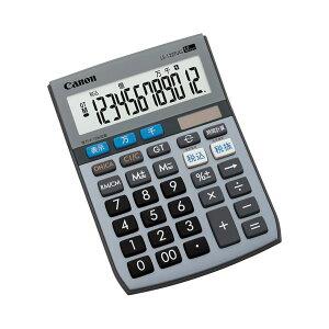(まとめ)キャノンCanon電卓千万単位シリーズLS-122TUG12桁ミニ卓上タイプ5570B0011台【×5セット】