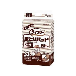健康器具(まとめ)ユニ・チャーム尿とりパッドGライフリー尿とりパッドスーパー(1)男性用33枚袋【×10セット】