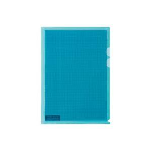 生活用品・インテリア・雑貨(業務用100セット)プラスカモフラージュホルダーFL-127CH-5P薄青5枚【×100セット】