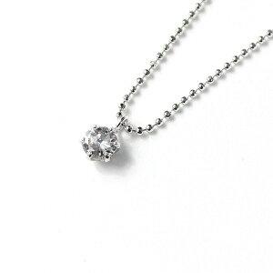 ファッションプラチナ0.25ctダイヤモンドペンダントネックレス