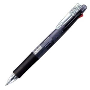 文具・オフィス用品(業務用100セット)ゼブラZEBRAクリップオンマルチB4SA1-BK黒【×100セット】