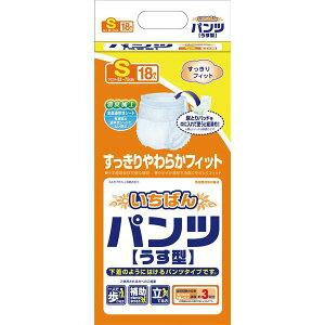 健康器具カミ商事パンツ型いちばんパンツ(3)うす型S(18枚×4袋)ケース477071