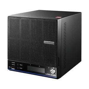日用品雑貨関連 ウイルス対策機能搭載「拡張ボリューム」採用2ドライブビジネスNAS 8TB ライセンス5年 HDL2-H8/TM5