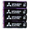 電池・充電池 関連商品 三菱 黒マンガン乾電池単3(4本入)R6PUE/4S 36-358 【10個...