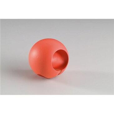 インテリア・家具 【10個セット】階段手すり滑り止め 『どこでもグリップ』ボール形 軟質樹脂 直径32mm コーラル シロクマ 日本製