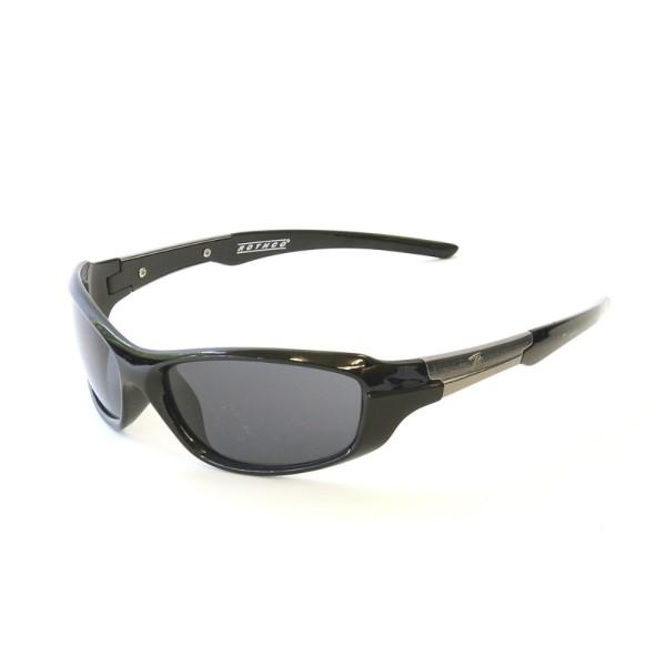 サングラス 眼鏡 非常に軽い 使いやすい プリカーボネイト製サングラス ブラックフレーム/スモークレンズ