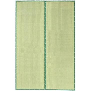 ラグ カーペット お部屋をナチュラルに演出 和風 オシャレ い草上敷 『F竹(たけ)』 裏ウレタン付き 191×286cm