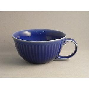 スープ皿 12.2×H6.2 cm 和食器 有田焼 ルリ釉しのぎ スープカップ