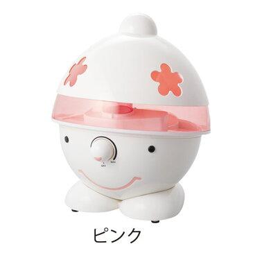 超音波加湿器 ゆきんこ ピンク