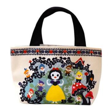 バッグインバッグ ポップな色合い オシャレ Disney 白雪姫と七人の小人 Snow White and Seven Dwarfs Designed by Kinpro ミニトート