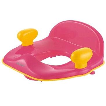 トイレトレーニング グッズ 座らせやすい 簡単 ポッティス 補助便座R ピンク(P)