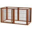犬用サークル ゲート 居住スペースの間仕切りに… らくらく ペット用 ...