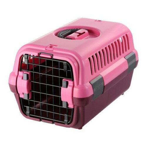 ペットキャリー ケース 使わない時は、コンパクト に収納 安心 快適 キャンピングキャリー S ピンク(P)