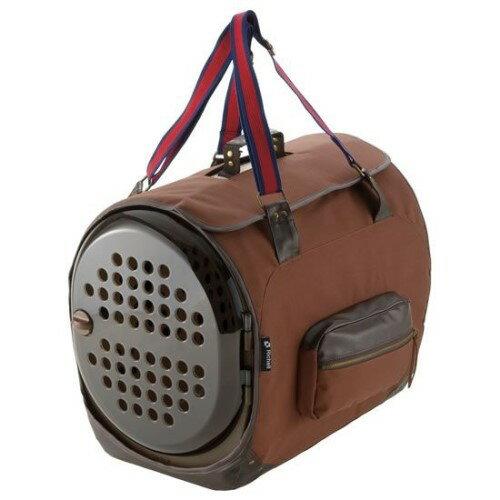 犬 猫用 キャリーバッグ  小型犬・猫用 に最適なMサイズ 便利グッツ ファブコートキャリー ST M ブラウン(BR)