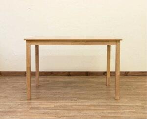 table机メラミン化粧合板ダイニングテーブル110×70cmカラー:ナチュラル