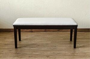 Chair家具ベンチモダンダイニングベンチ100x35cmカラー:ウェンジ