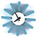掛け時計 ブロッククロック ジョージ・ネルソン 時計 壁掛け時計 壁掛け クロック 永遠の定番…