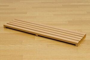 JADE棚付きフォールディングテーブル90×50cmビーチ