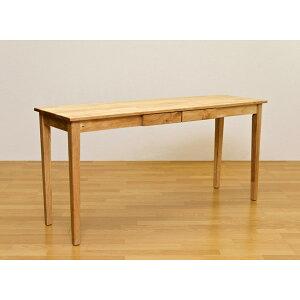 木製テーブル150×45cmナチュラル