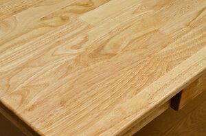 木製テーブル90×60cmナチュラル
