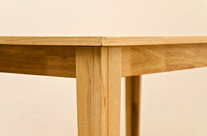 ダイニングテーブル120×75サイズ!テーブル脚L字型/ウォールナット