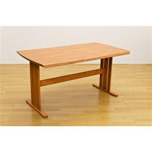 テーブルリビングテーブル4人掛けダイニングテーブル140×80cmカラー:ナチュラル