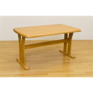 ダイニング4人掛けテーブルT字脚ダイニングテーブル135×80cmカラー:ナチュラル